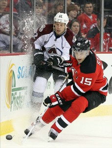 Petr Sykora of the New Jersey Devils