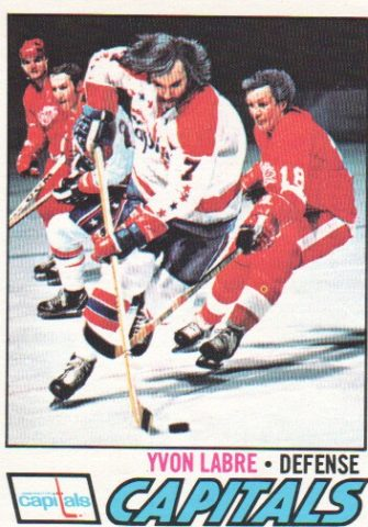 Capitals 1974-75 NHL Season