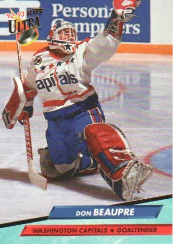 Don Beaupre, Washington Capitals