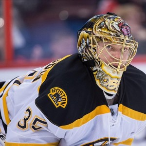 Anton Khudobin will get the start for the Bruins against the Canadiens. (Marc DesRosiers-US PRESSWIRE)