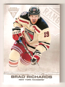 2011-12 Titanium Brad Richards base card
