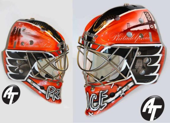 Goalie mask painting an in depth look my maxwellsz
