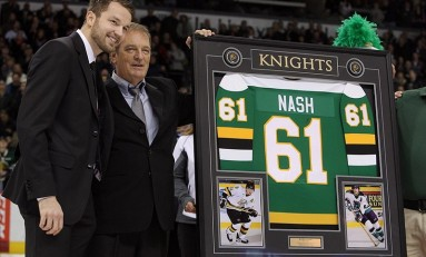 Rick Nash Happy in New York Rangers Jersey