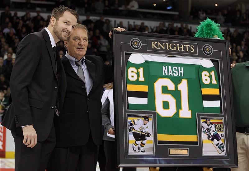 Rick Nash, New York Rangers, London Knights, OHL, NHL