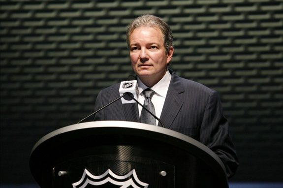 Ray Shero guides the NJ Devils into a new era.(Charles LeClaire-US PRESSWIRE)