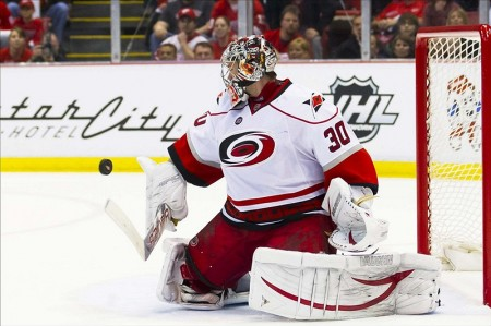 (Rick Osentoski-US PRESSWIRE) Sticking to the goalie theme, Cam Ward of the Carolina Hurricanes has re-established himself as a legitimate starter this season. His overall numbers might not be comparable to Rinne's, but he's had some similar standout performances and stole at least a few points for his team during the month of November.