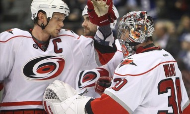 Carolina Crowding: Hurricanes' Goalie Jam