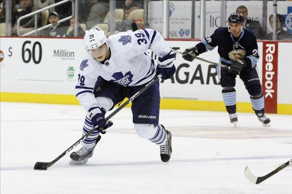 Matt Frattin, Toronto Maple Leafs