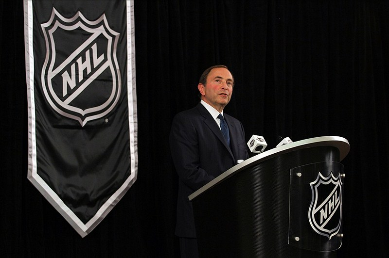 Gary Bettman, World Cup of Hockey, Player and Puck Tracking