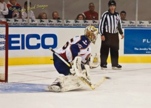 Igor Bobkov, Anaheim Ducks, Goaltending