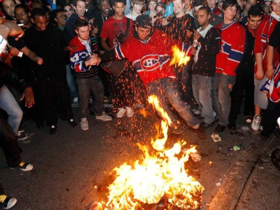 Angry Habs fans