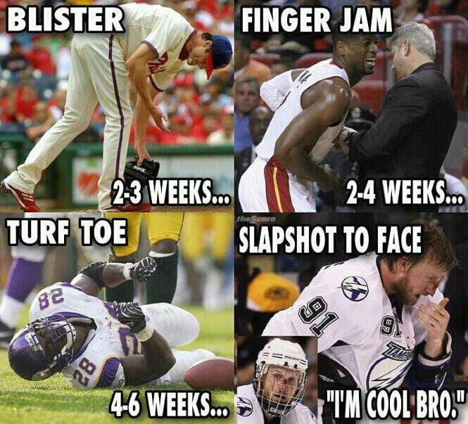 Are Nhl Players The Toughest Athletes
