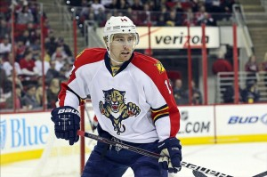 With one year left on his contract, Tomas Fleischmann is out to prove that these aren't your father's Panthers anymore.