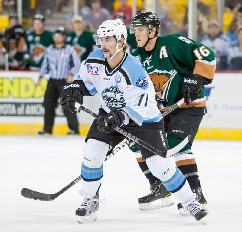 Alaska Aces forward Brandon Dubinsky