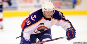 Chris Wagner was one of the 12 skaters moved to AHL Norfolk. Photo Credit:(Norfolk Admirals/John Wright)