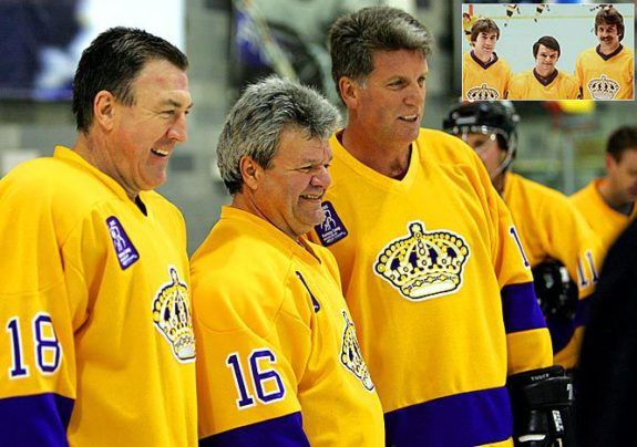 Kings' Triple Crown Line