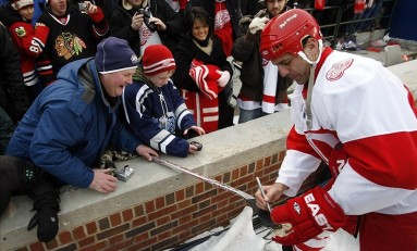 Chris Chelios & Chris Pronger on Alumni Games, Modern D