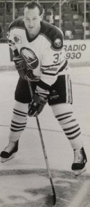 Shawn Anderson as a member of the Buffalo Sabres