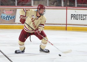Michael Matheson has developed nicely at Boston College (Boston College)
