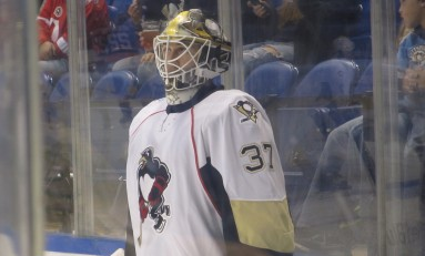 Pens Goalie Depth on Display During Preseason
