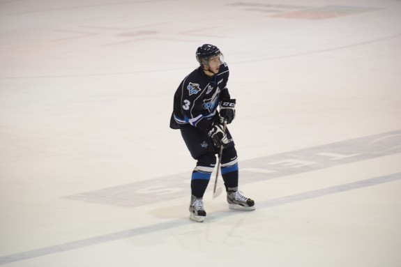 Rimouski Océanic defenseman and 2013 NHL Draft eligbile Jan Košťálek plays a mature game (Photo: Rimouski Océanic)