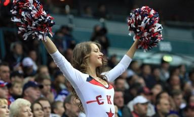 Russian Hockey Cheerleaders & KHL Marketing
