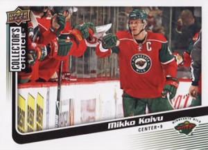 2009-10 Collector's Choice #72 Mikko Koivu