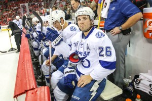 Tampa Bay Lightning - Martin St Louis - Mandatory Photo Credit: Andy Martin Jr