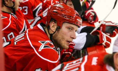 Jordan Staal Breaks Leg; Canes Younger Players Must Step Up