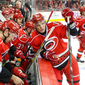 Former-Carolina Hurricanes forward Alexander Semin