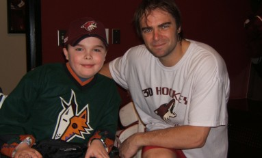 Muscular Dystrophy And Hockey