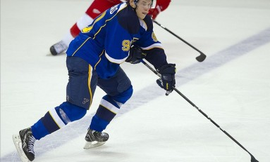 NHL Rookie Vladimir Tarasenko Comes Out Firing