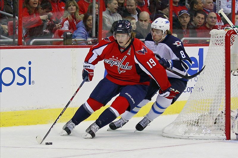 f172f5afe61 Nicklas Backstrom is thought to be day-to day after leaving Wednesday s  game (Geoff