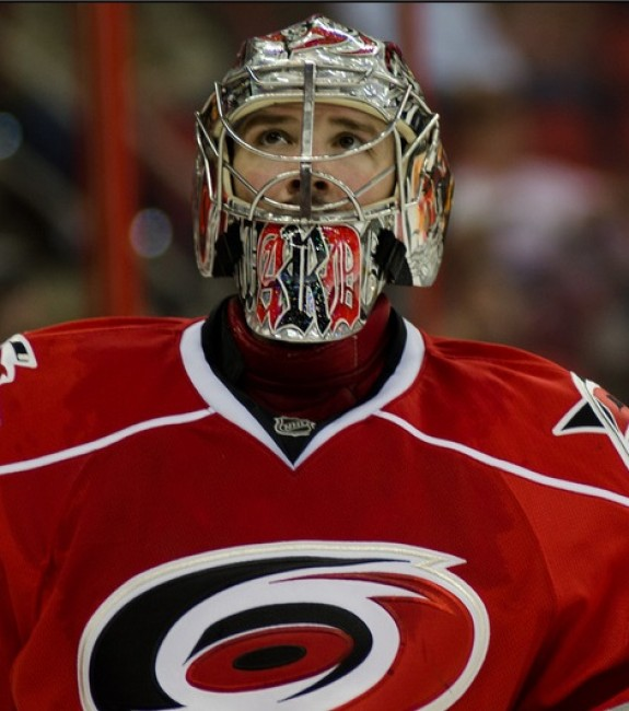 (Hammersmith Studios- Greg Thompson) Once upon a time Cam Ward would have ranked in the top 10 on this list, but he and his Carolina Hurricanes have fallen on hard times in recent seasons. Ward is in a contract year, so he could bounce back and build on the marginal improvements he made last season. Still, Ward's no longer a guy you should be grabbing in the early rounds.