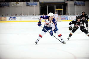 John Kurtz netted his first goal of the season Friday night. Photo Credit: (Norfolk Admirals/John Wright)