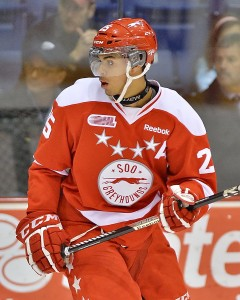 Nurse will return to the Greyhounds in the OHL (Terry Wilson/OHL Images)