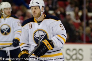 Steve Ott had a pair of goals against the Montreal Canadiens on March 18 including the overtime game winner. The win began a three-game winning streak for the Sabres. (THW Media Library)