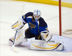 Jake Allen is a reason the Blues don't need to draft a goalie
