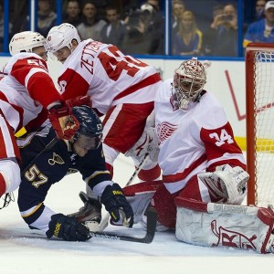 Petr Mrazek, Detroit Red Wings, NHL, Fantasy Hockey