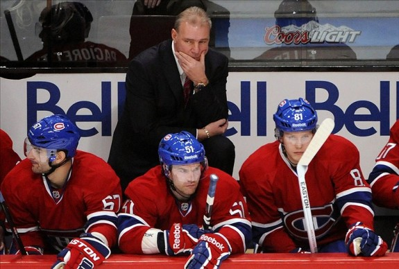 Michel Therrien - Montreal Canadiens coach