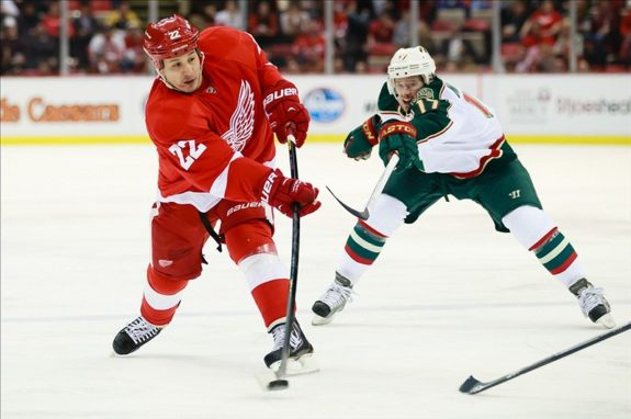Jordin Tootoo Red Wings