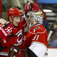 Dan Ellis has been making the most of his time as Cam Ward's backup. (James Guillory-USA TODAY Sports)
