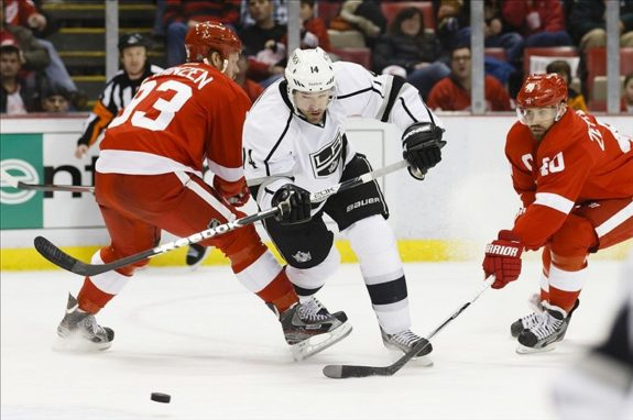 Justin Williams (Rick Osentoski-USA TODAY Sports)