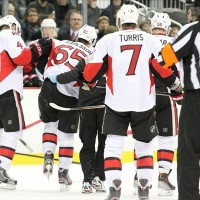 Erik Karlsson suffered a lacerated tendon (Charles LeClaire-USA TODAY Sports)