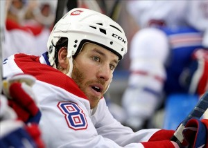 Will Brandon Prust help or hurt the Habs in the playoffs? (Timothy T. Ludwig-USA TODAY Sports)