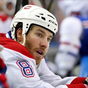 Former-Montreal Canadiens forward Brandon Prust