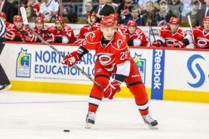 Semin has only 6 shot on goal in his past 8 games.[Photo by Andy Martin Jr]