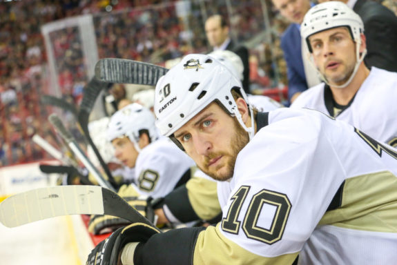 Pittsburgh Penguin Tanner Glass - Photo By Andy Martin Jr