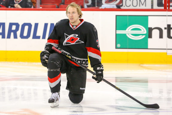 Jussi Jokinen is a shootout specialist who could've been a big help to the Maple Leafs (Photo: Andy Martin Jr)