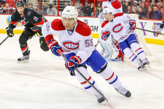 Evidence of the Flyers shopping for a defenseman can be found in the offer made to former Montreal Canadiens blue liner, Francis Bouillon.